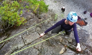 KAF Adventures: Half-Day Guided Climb for One or Two from KAF Adventures (Up to 41% Off)