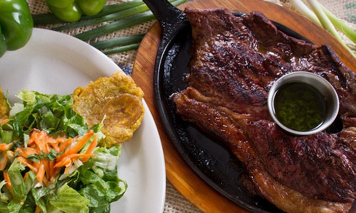Presto Latin Cantina - Lassiter Park: Colombian Appetizers and Entrees for Two or Four at Presto Latin Cantina (Up to 55% Off)