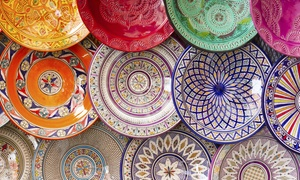Urban Oil Ceramics: BYOB Ceramic Plate Glazing Class for One or Two (Up to 58% Off)