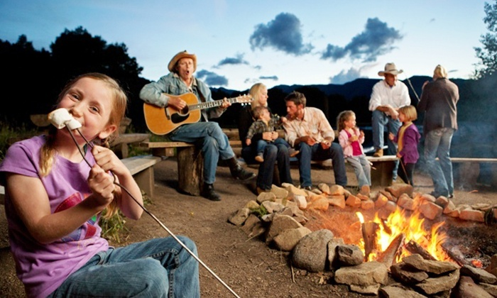 Blazing Adventures - Snowmass: $329 for a Backcountry Sunset Dinner and S'Mores for Four from Blazing Adventures (Up to $418 Value)