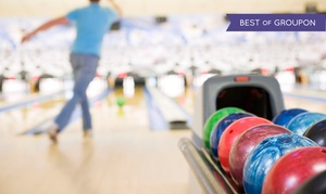 Emerald Bowl: Two Hours of Bowling with Shoe Rental for Two, Four, or Six at Emerald Bowl (Up to 70% Off)
