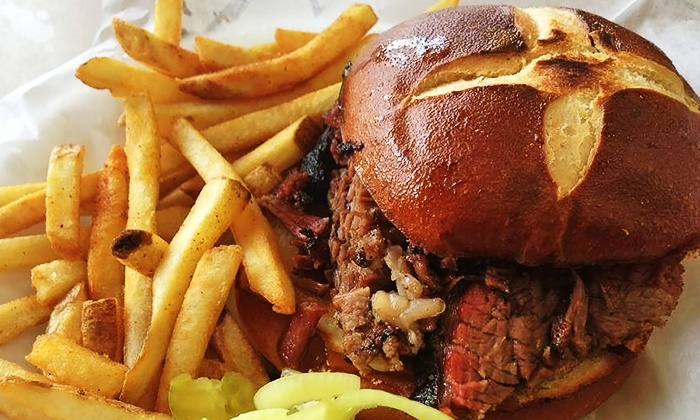 AJ's Ranch Road Grill - San Marcos: Barbecue and Tex-Mex at AJ's Ranch Road Grill (Up to 50% Off). Two Options Available.