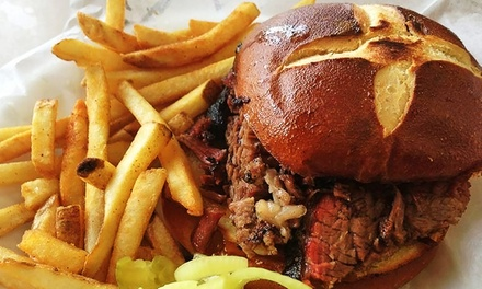 Barbecue and Tex-Mex at AJ's Ranch Road Grill (Up to 37% Off). Two Options Available.