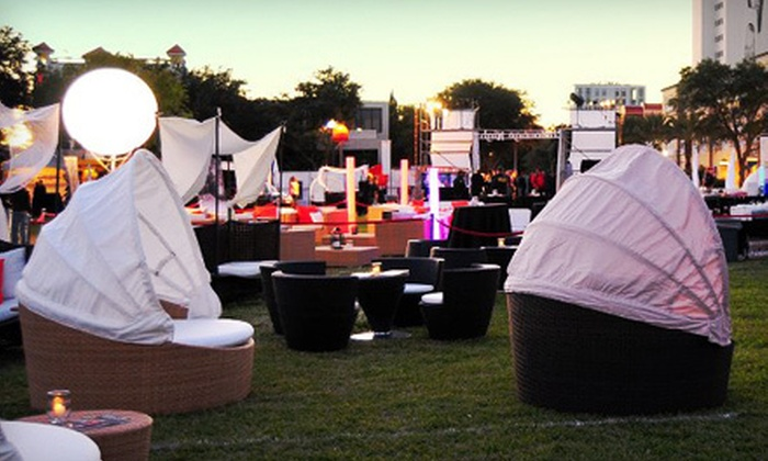 Chillounge Night - Curtis Hixon Park: Chillounge Night Outdoor Lounge Experience on March 31 in Treasure Island or April 14 in Tampa (Up to 60% Off)
