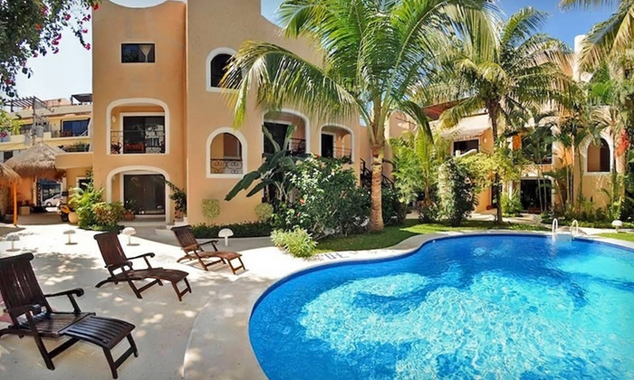 BRIC Hotel - Playa del Carmen, Mexico: 3-Night Stay with Daily Breakfast and Two Massages at BRIC Hotel in Playa del Carmen, Mexico
