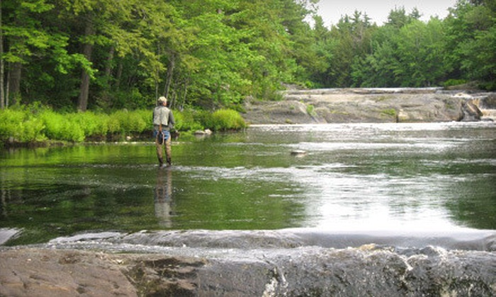 Milford House - Annapolis Royal, NS: One-Day Group Fly-Fishing Trip or Two-Day Fly-Fishing Course from Milford House (Up to 60% Off)