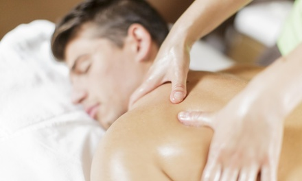 A 60Minute DeepTissue Massage at Holistic Knead (50% Off)