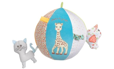 One or Two Sophie La Giraffe Early Learning Balls