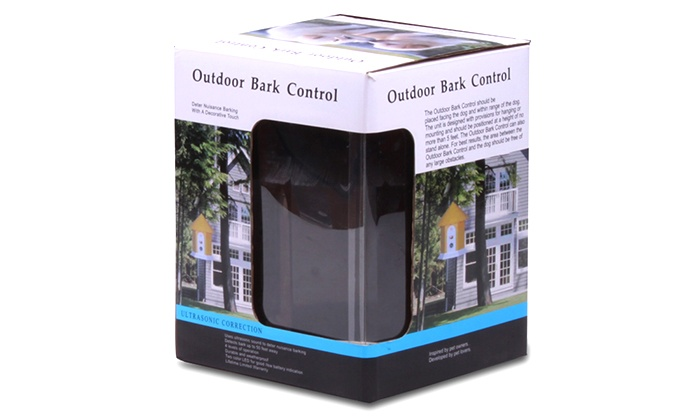 Outdoor Bark Control Device Groupon