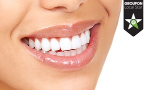 1 o 2 implantes dentales de titanio con corona de metal porcelana desde 549 €