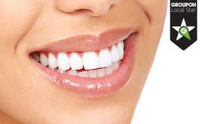 Odontofamily: 1 o 2 implantes dentales de titanio con corona de metal porcelana desde 549 €