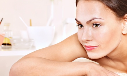 90-Minute Massage with Optional Facial at White Dahlia (Up to 55% Off)