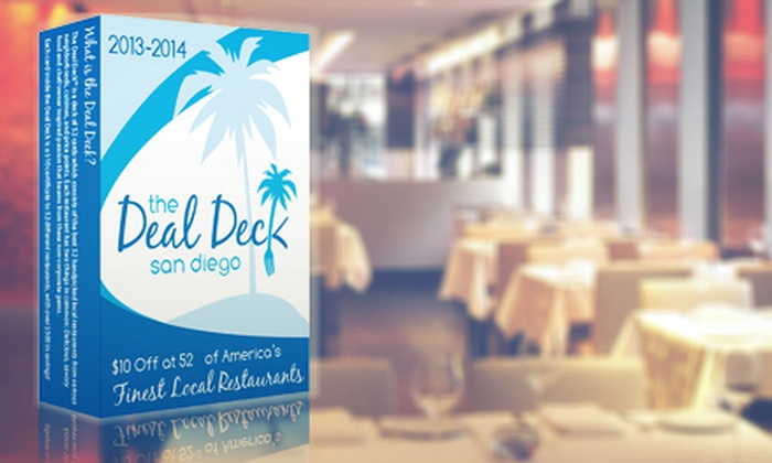 The Deal Deck: $20 for a 52-Card Coupon Deck from The Deal Deck ($50 Value)