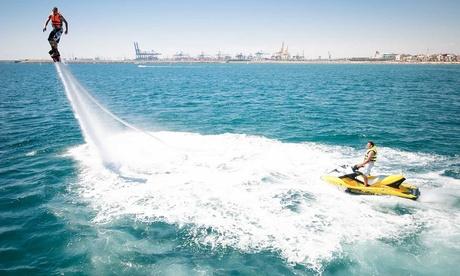 Flyboard acuático para una o dos personas desde 39 € en Jetski Valencia