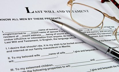Will Package with Will, Living Will, and Power of Attorney for Individuals or Couples from Willing.com (80% Off)