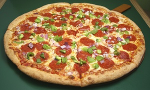 Steve's Pizza: Pizza Meals or Pizza Party Package at Steve's Pizza (Up to 49% Off). Three Options Available.