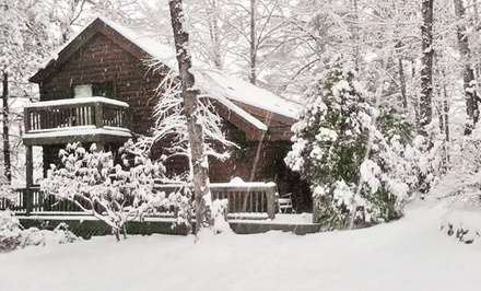Stay at Laurelwood Inn in Cashiers, NC. Dates into May.