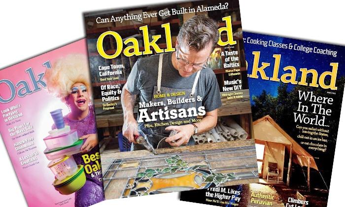 "Oakland Magazine: $11 for One-Year ""Oakland"" Magazine Subscription ($20 Value)"