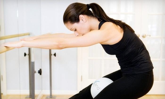 Four Graces Pilates Studio - Nichols Hills,Suburban Northside: 5, 10, or 20 Xtend Barre Classes at Four Graces Pilates Studio (Up to 54% Off)