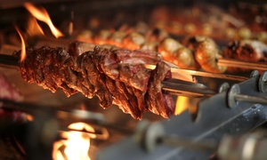 Pradaria Steaks & Churrascaria: Brazilian Churrasco Dinner for Two, Four, or Six at Pradaria Steaks & Churrascaria (Up to 39% Off)