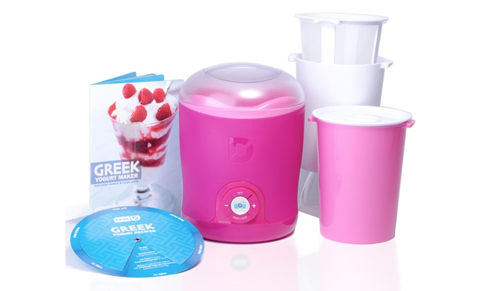 Dash Greek Yogurt Maker: Dash Greek Yogurt Maker in Blue or Pink. Free Returns.
