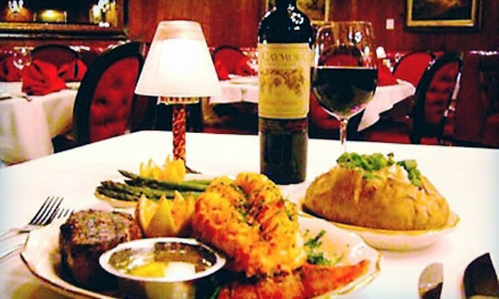 The Golden Steer Steakhouse - The Strip: $25 for $50 Worth of Steak, Seafood, and Drinks at The Golden Steer Steakhouse