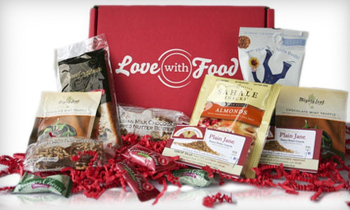 LoveWithFood: Three- or Six-Month Gourmet Food and Snacks Subscription from LoveWithFood (Half Off)