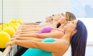 NextBarre: Three or Five Barre Classes at NextBarre (Up to 68% Off)