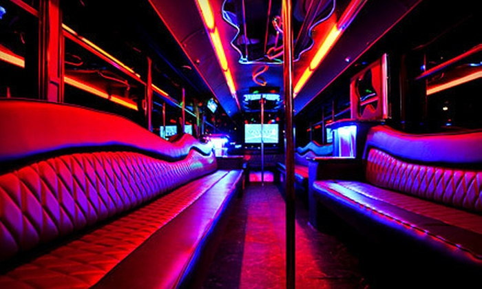 Party-Bus Rental - Oahu Party Bus | Groupon