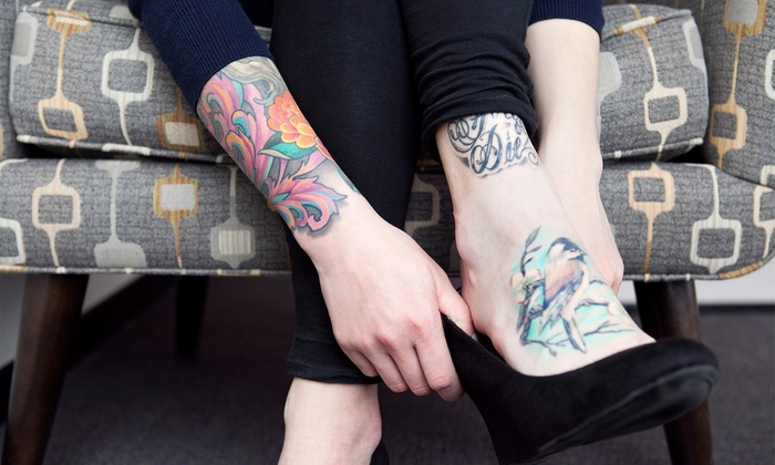 Bowtye Beauty Bar - Services - North Miami Beach: One or Three Hours of Custom Tattoo Work at Bowtye Beauty Bar - Services (Up to 51% Off)