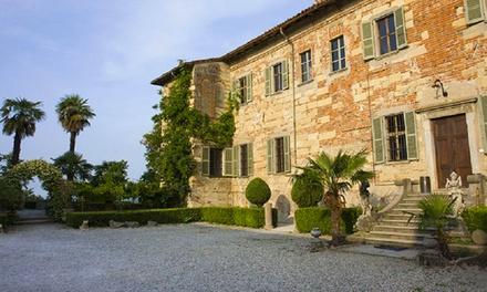 Piemont: 2 Tage für Zwei inkl. Frühstück, Schlossführung und Weinverkostung im Il Castello di Frassinello