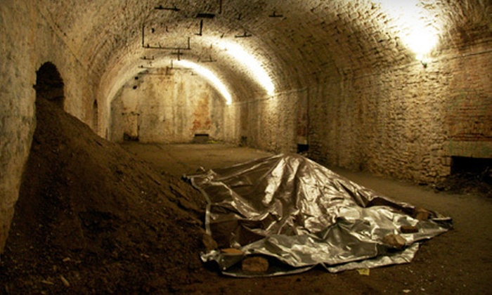 Queen City is Haunted - American Legacy Tours: $20 for a Queen City Underground Walking Tour for Two from American Legacy Tours ($40 Value)