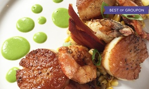 Apolline Restaurant: French-Creole Dinner for Two or Four at Apolline Restaurant (Up to 41% Off). Groupon Reservation Required.