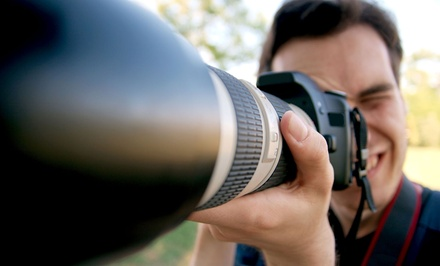 Beginner Photography Workshop for One or Two, or a Private Portfolio Review at Louisville Model Shots (Up to 61% Off)