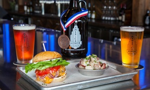 American Honor Ale House & Brewery: Brewery Package for Two or Four, or $20 Value to American Honor Ale House & Brewery (Up to 44% Off)
