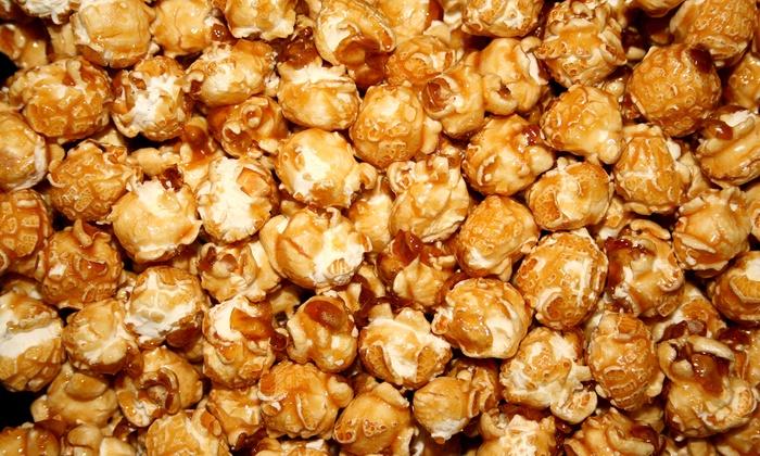 Karmelkorn - Wichita: $18 for Five Groupons, Each Good for One Medium Popcorn and One Medium Soda at Karmelkorn ($37.40 Total Value)