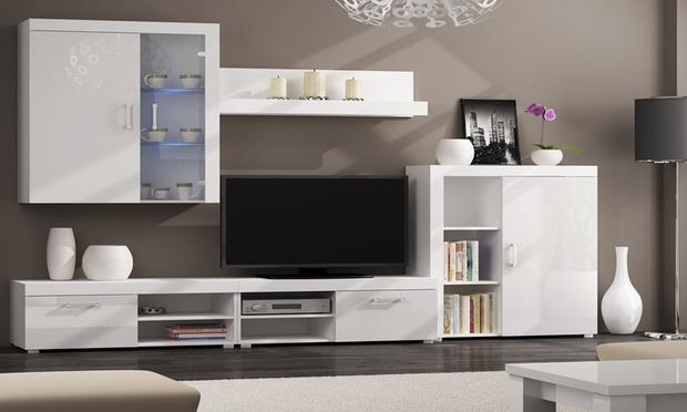 Soggiorno componibile di design groupon goods - Mobili componibili per soggiorno ikea ...