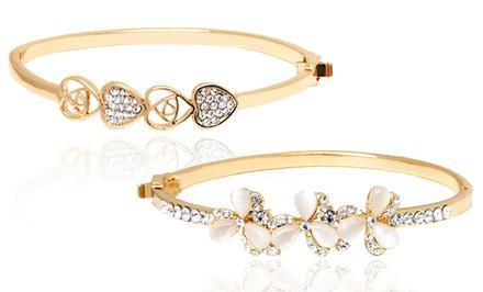 Crystal Bracelets Made with Swarovski Elements