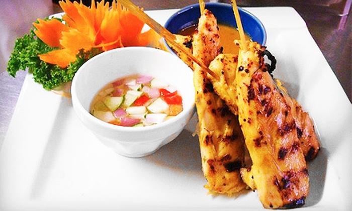 Bamboo Thai Restaurant - Commonwealth: $15 for $30 Worth of Thai Dinner Food at Bamboo Thai Restaurant