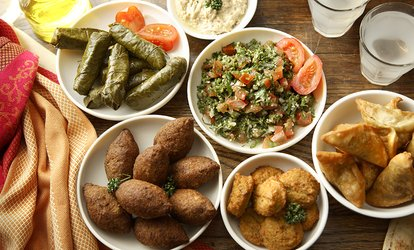 image for $12 for $20 Worth of Mediterranean Food at Habiba Mediterranean <strong>Restaurant</strong> & Hookah Lounge ($20 Value)