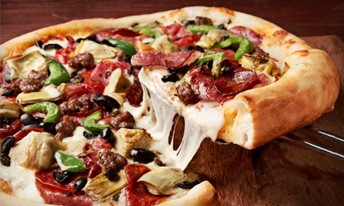 Pete's Restaurant and Brewhouse and Original Pete's - Multiple Locations: Extra-Large Pizza with Knots, or $7 for $14 Worth of Pub Food at Pete's Restaurant and Brewhouse and Original Pete's