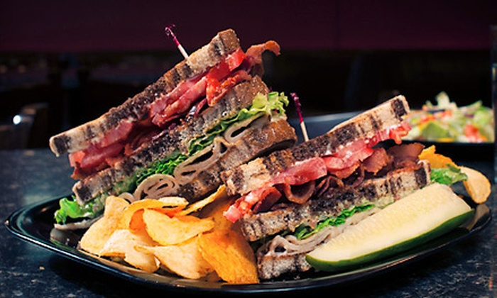 The Mad Hatter Pub - Commerce Township Downtown: Specialty Burgers or Sandwiches and Drinks for Two or Four at The Mad Hatter Pub (Up to 58% Off)