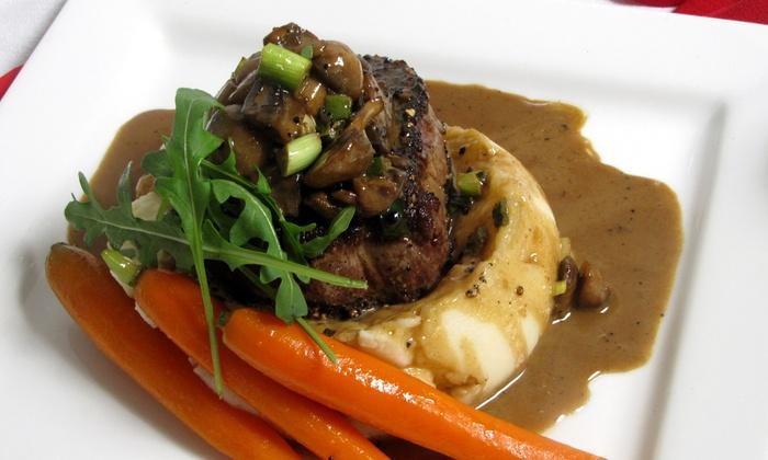 The Savoy Restaurant - Rome: Italian Dinner for Two or Four at The Savoy Restaurant (Up to 51% Off)