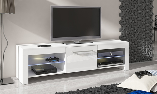 Mueble para tv groupon goods - Costruire porta tv ...