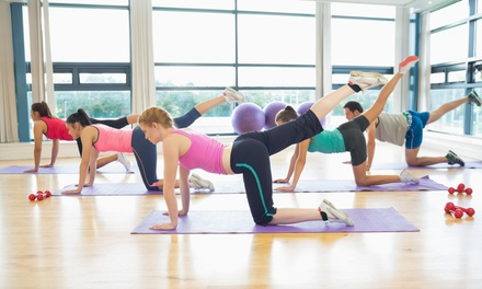 Up to 58% Off Yoga or Zumba Classes at Curves