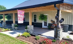 Douglas Vineyards: Wine Tasting for Two or Four, with Bottle of Wine and Souvenir Glasses at Douglas Vineyards (Up to 46% Off)