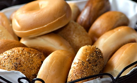 $18 for Three Groupons, Each Good for $12 Worth of Bagels, Sandwiches, and Coffee at Bruegger's ($36 Value)