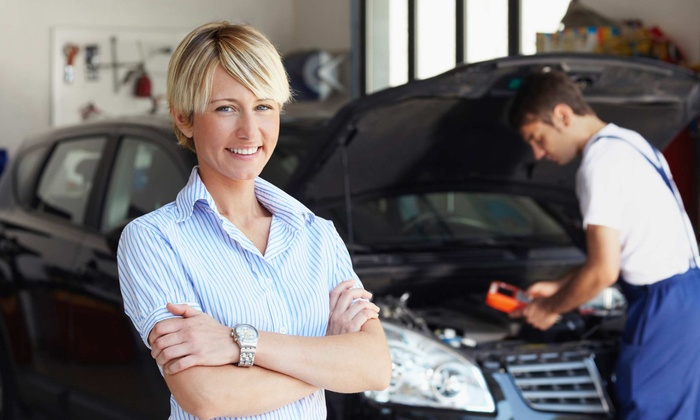 Rock Chevrolet - Grayslake: Oil Change with Tire Rotation and Nitrogen Tire Refill at Rock Chevrolet
