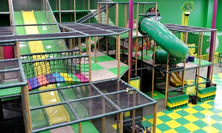Indoor Playground Admission for One or Two at Funky Monkey Fun Park (50% Off)