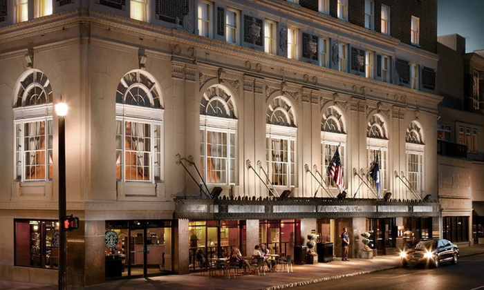 Francis Marion Hotel - Charleston: Two-Night Stay with Wine and Truffles at Francis Marion Hotel in Charleston, SC